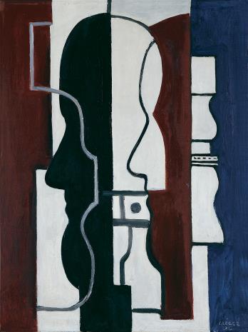Fernand Léger, Dwa profile  [Les Deux profils]