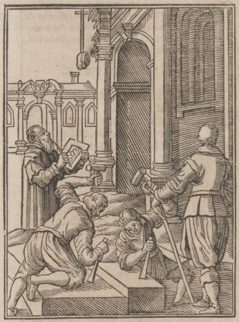Christoph Młodszy Sichem, Budowa świątyni dla Arki Przymierza