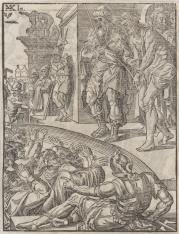 1. Chrystus przybijany do krzyża 2. Zdjęcie z krzyża