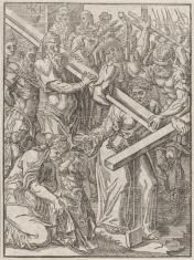 1. Niesienie krzyża  2. Chrystus na krzyżu