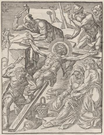 Christoph Młodszy Sichem, 1. Piłat ukazuje Chrystusa ludowi 2. Zmartwychwstanie