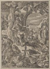 Święty Jan Chrzciciel nauczający