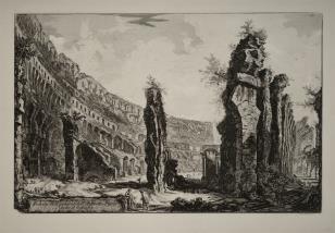 Rzym - Wnętrze Koloseum
