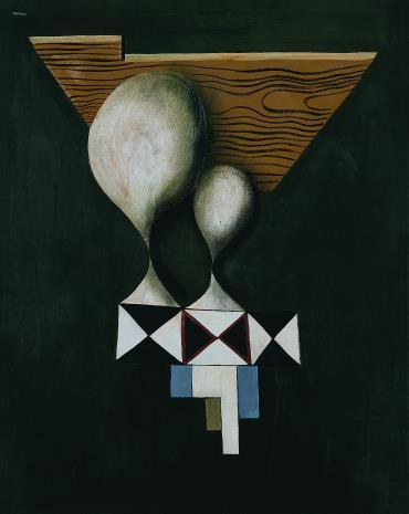 Kurt Seligmann, Kompozycja  (Portret podwójny)