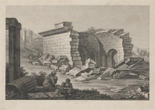 Odpoczynek wśród ruin
