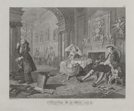 Ernst Ludwig Riepenhausen, Znudzone małżeństwo