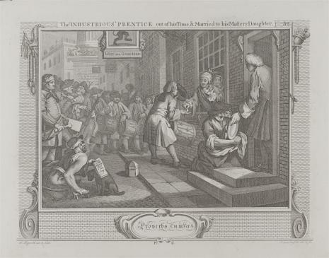 Ernst Ludwig Riepenhausen, Pilny uczeń poślubia córkę swego mistrza