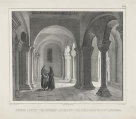 Część dolna wnętrza kaplicy w Landsbergu