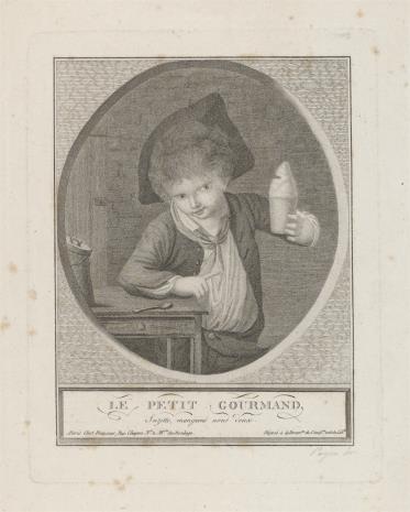 Camille Payen, Chłopiec z kubkiem w ręce