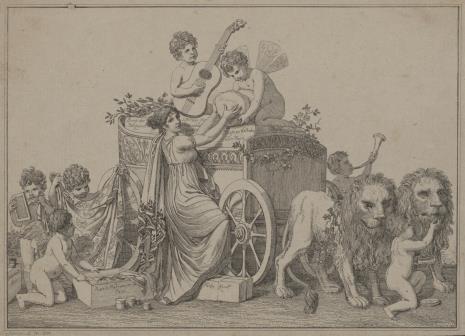 Johann Veit Schnorr von Carolsfeld, Alegoria literatury dotyczącej sztuki