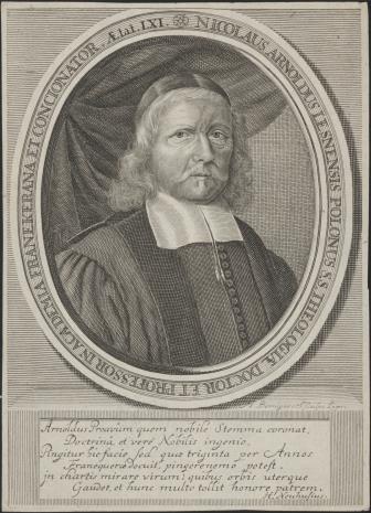 Johann Martin Bernigeroth, Mikołaj Arnold