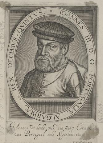 Jan Philipp Jansen, 1. Jan III, król Portugalii 2. Henryk I, król Portugalii (na odwrocie)
