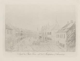 Rynek i ratusz w Schmiedeberg