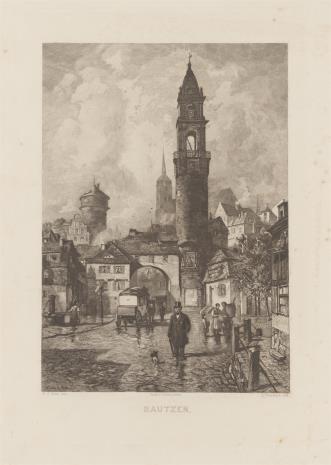 Ludwig Friedrich, Budziszyn - fragment miasta
