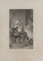 Modląca się wieśniaczka włoska