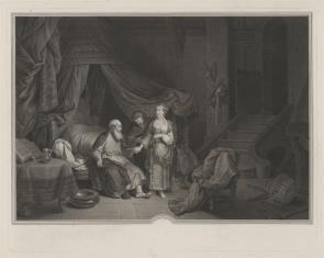 Sara przyprowadza Hagar do Abrahama