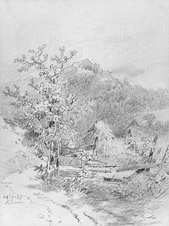 Karl  Pischinger, Krajobraz górski