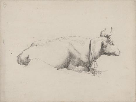 Adam von Bartsch, Krowa z dzwonkiem na szyi
