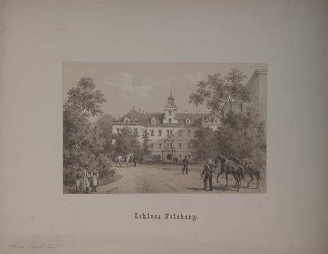 F. A.  Mindorf, Zamek Felsberg