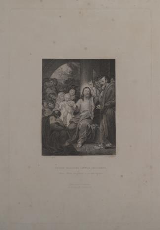 John William Cook, Chrystus błogosławiący dzieci
