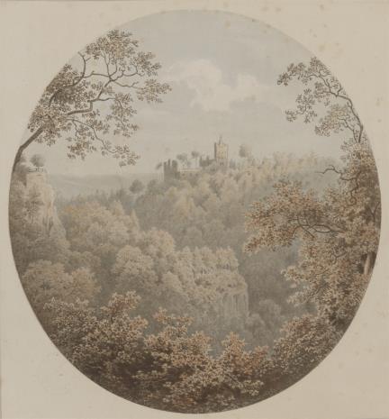 Alfred Hindorf, Zamek w Książnie