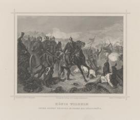 Cesarz Wilhelm I w czasie bitwy pod Königgrätz