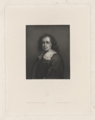 Luigi Calamatta, Autoportret Bartolomé'a Estabana Murillo
