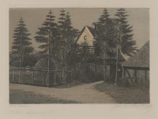 Dom wśród sosen