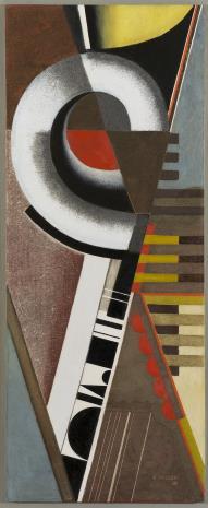 Karol Hiller, Deska ze spiralą (Kompozycja ze spiralą)