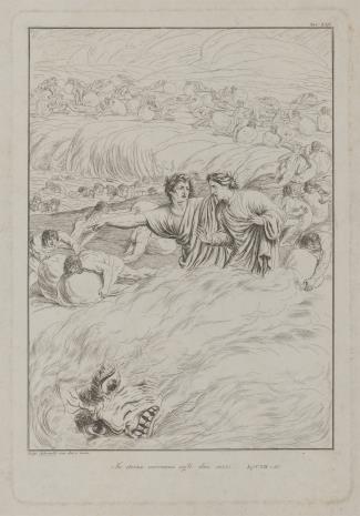 Luigi Adamolli, Ilustracja do Boskiej Komedii Dante'a Alighieriego