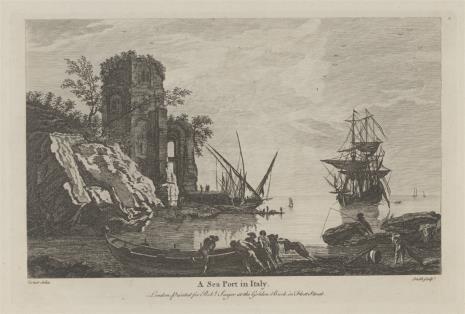 Samuel Smith, Widok portu rybackiego we Włoszech