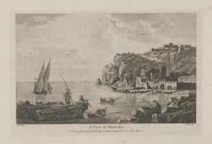 Widok Marsylii od strony wybrzeża