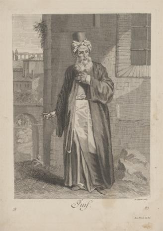Bernard Baron, Żyd
