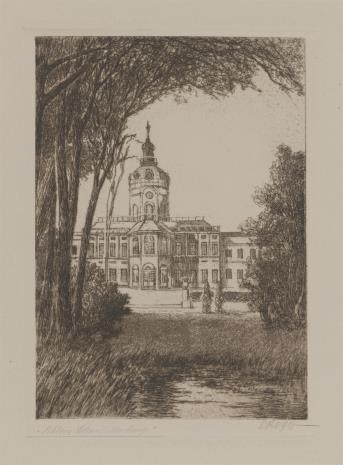 Johann Cornelius Riger, Zamek Charlottenburg