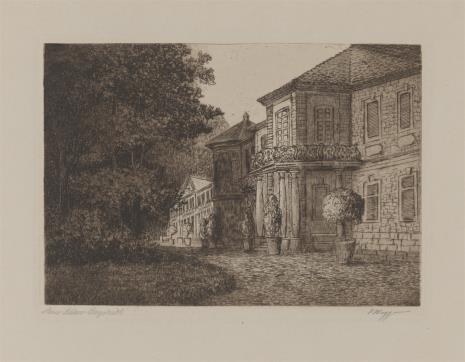 Hermann Daur, Zamek w Beyreuth