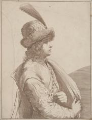 Młodzieniec w stroju orientalnym[?]