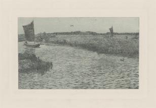 Żaglówki na kanale