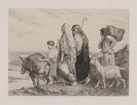Emile Boilvin, Scena biblijna