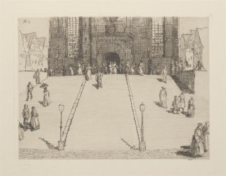 Adolf Ferdinand Schinnerer, Wejście do katedry