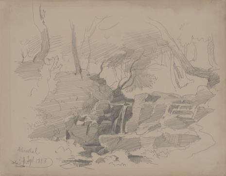 August von Wille, Widok Annathal