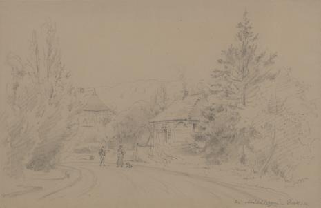 Rudolf Karl Bernhard von Türcke, Widok podgórskiej miejscowości