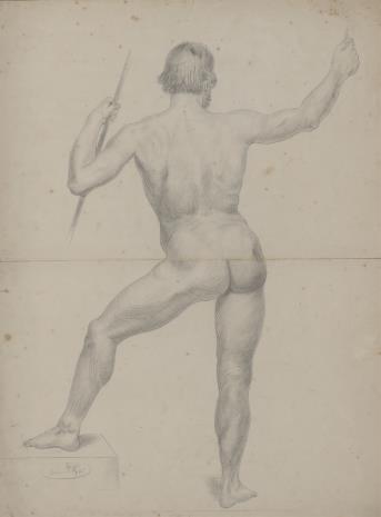 E. Kotschi, Akt męski