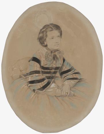 Marie Eisa Blanke, Portret młodej kobiety