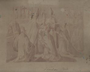 Scena konsekracji biskupa
