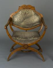 Fotel w stylu biedermeier
