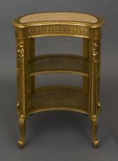 Etażerka złocona w stylu Ludwika XV