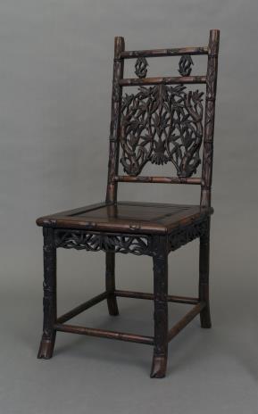 nieznany, Krzesło rzeżbione