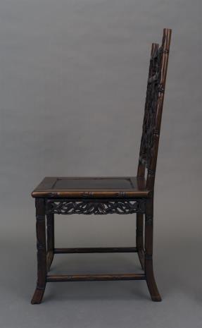 nieznany, Krzesło rzeźbione