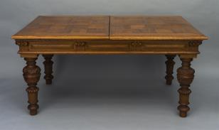 Stół prostokątny, rozsuwany