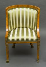 Fotel w stylu empire
